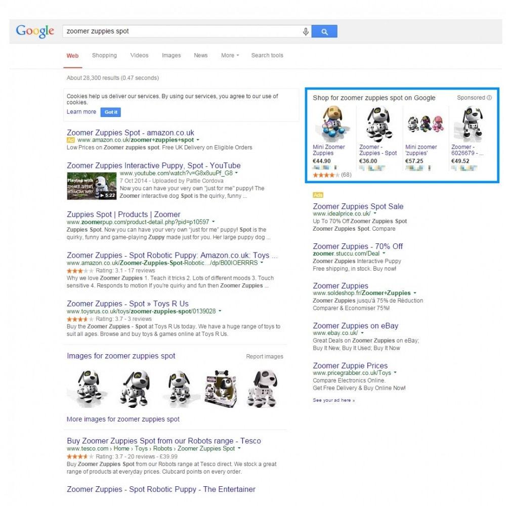 module - Price Comparison - Google Shopping (Merchant Center) - 2