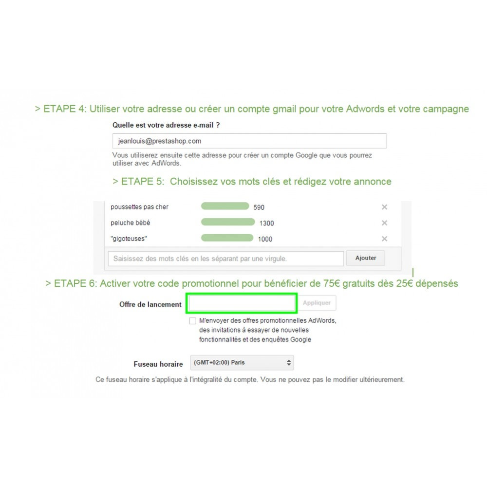 module - Référencement payant (SEA SEM) & Affiliation - Google AdWords - 2