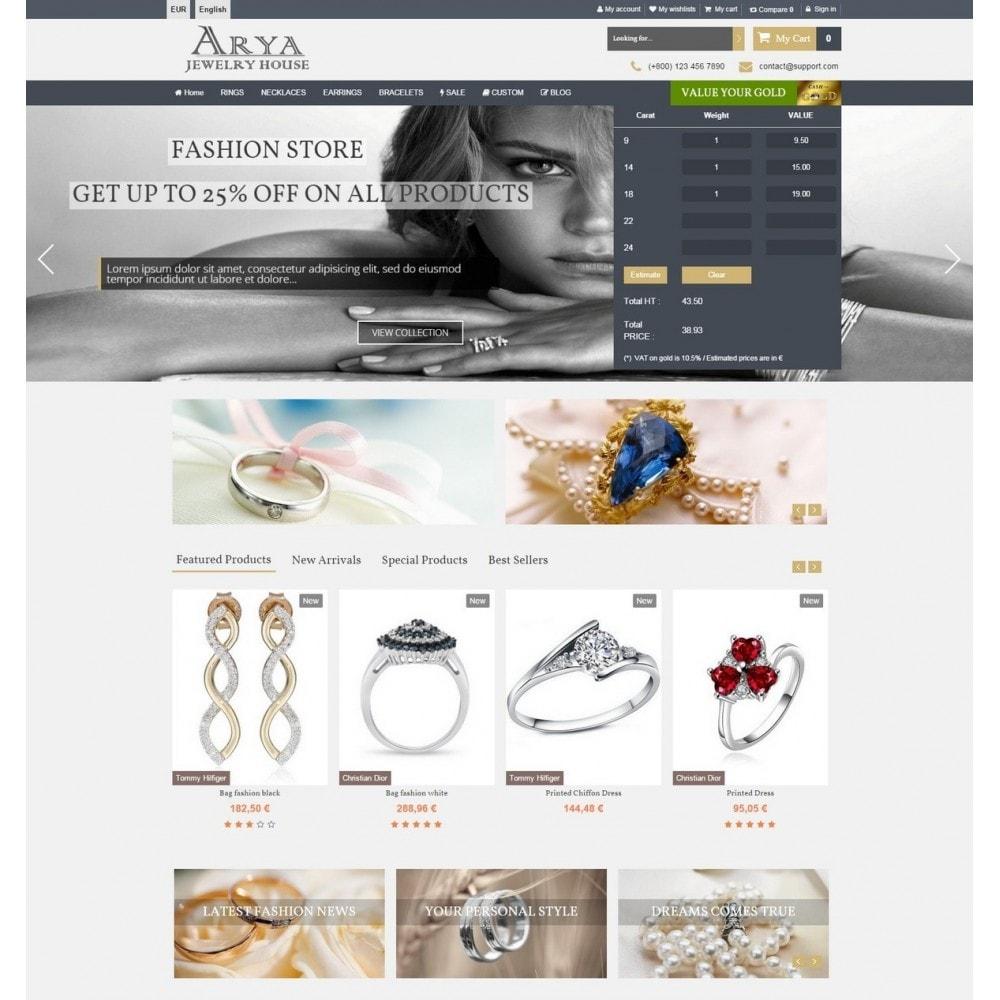 theme - Biżuteria & Akcesoria - Arya Responsive 1.6 - 3