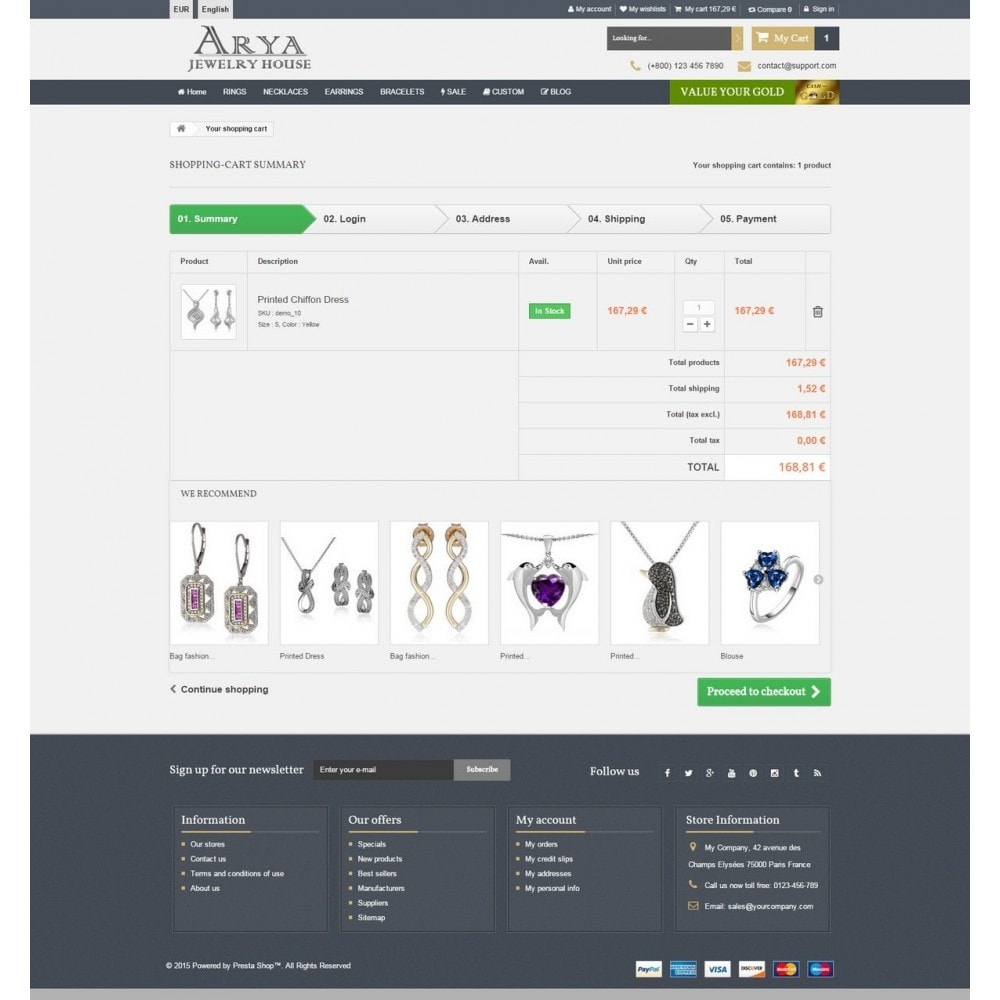 theme - Biżuteria & Akcesoria - Arya Responsive 1.6 - 9