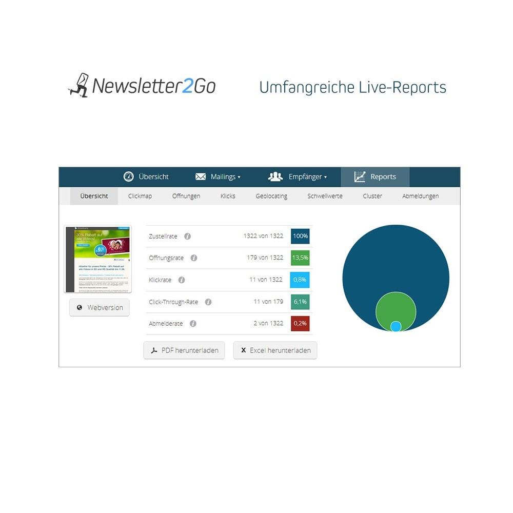module - Newsletter & SMS - Newsletter2Go - 3