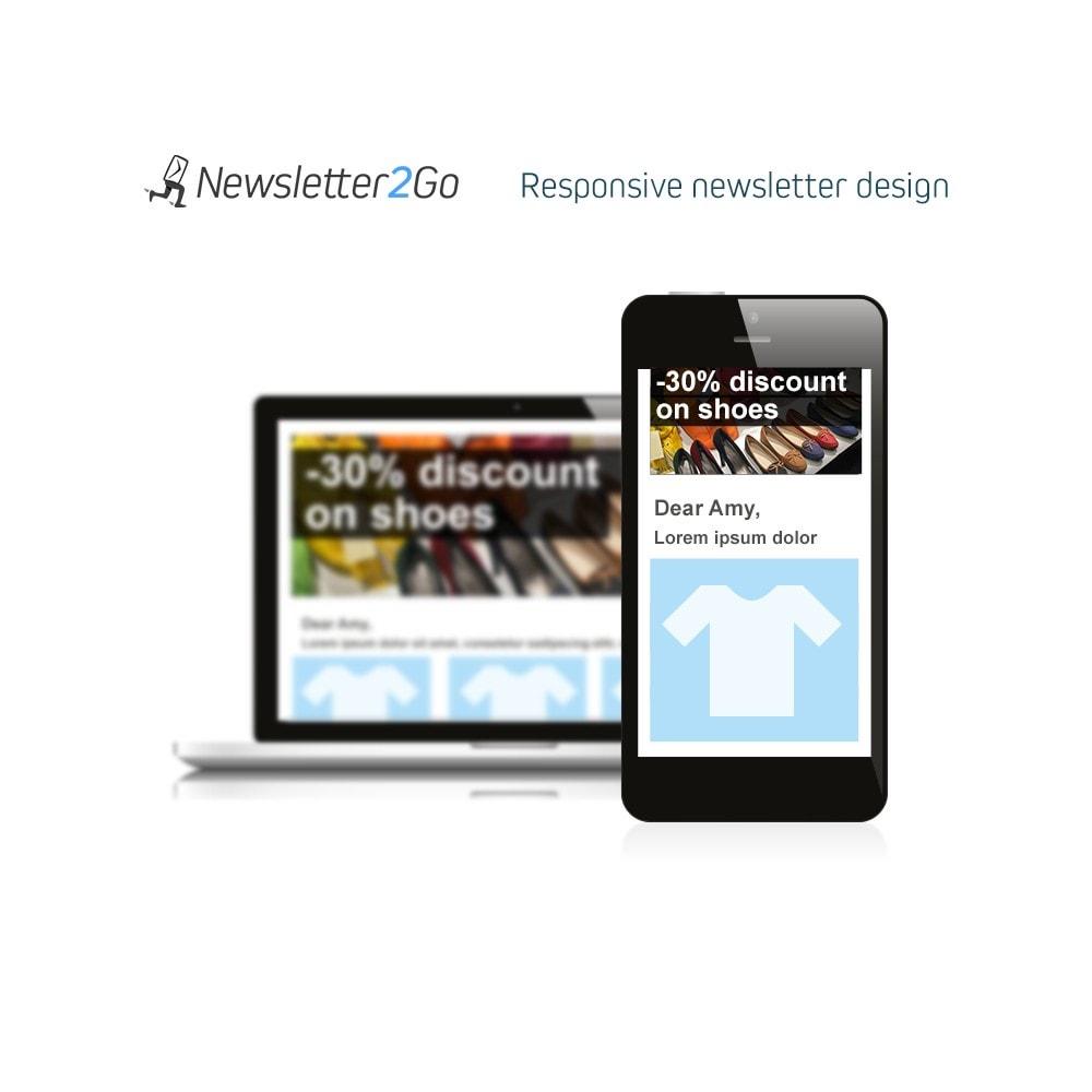 module - Рассылка новостей и SMS - Newsletter2Go - 4