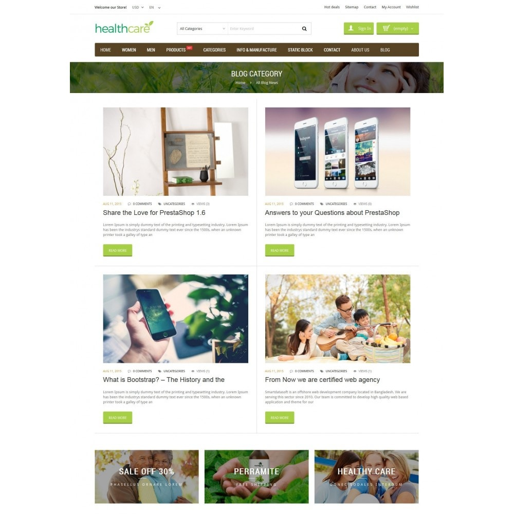 theme - Health & Beauty - HealthCare - Bio & Medical Store - 6