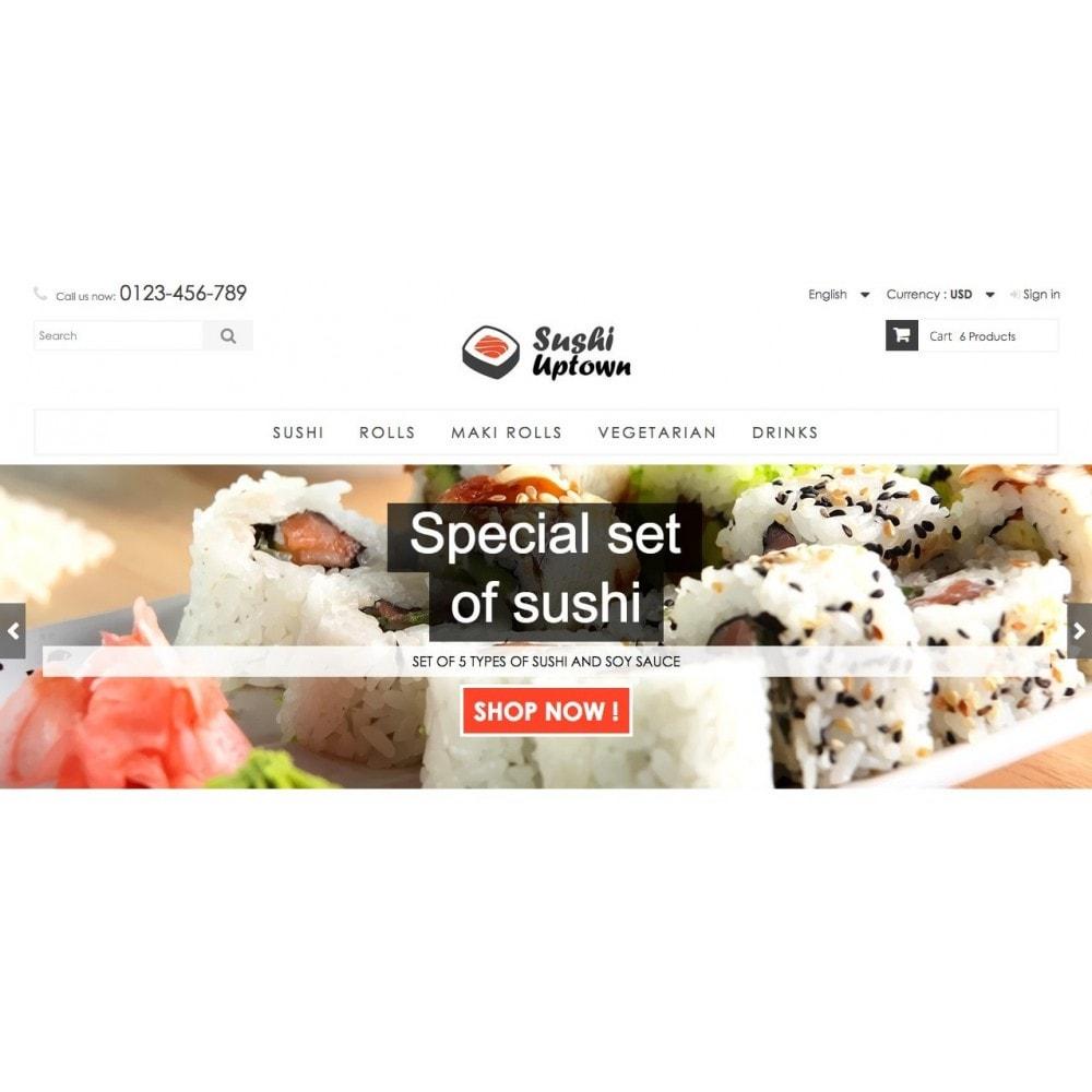 theme - Alimentos & Restaurantes - Sushi Uptown 1.6 Responsive - 3