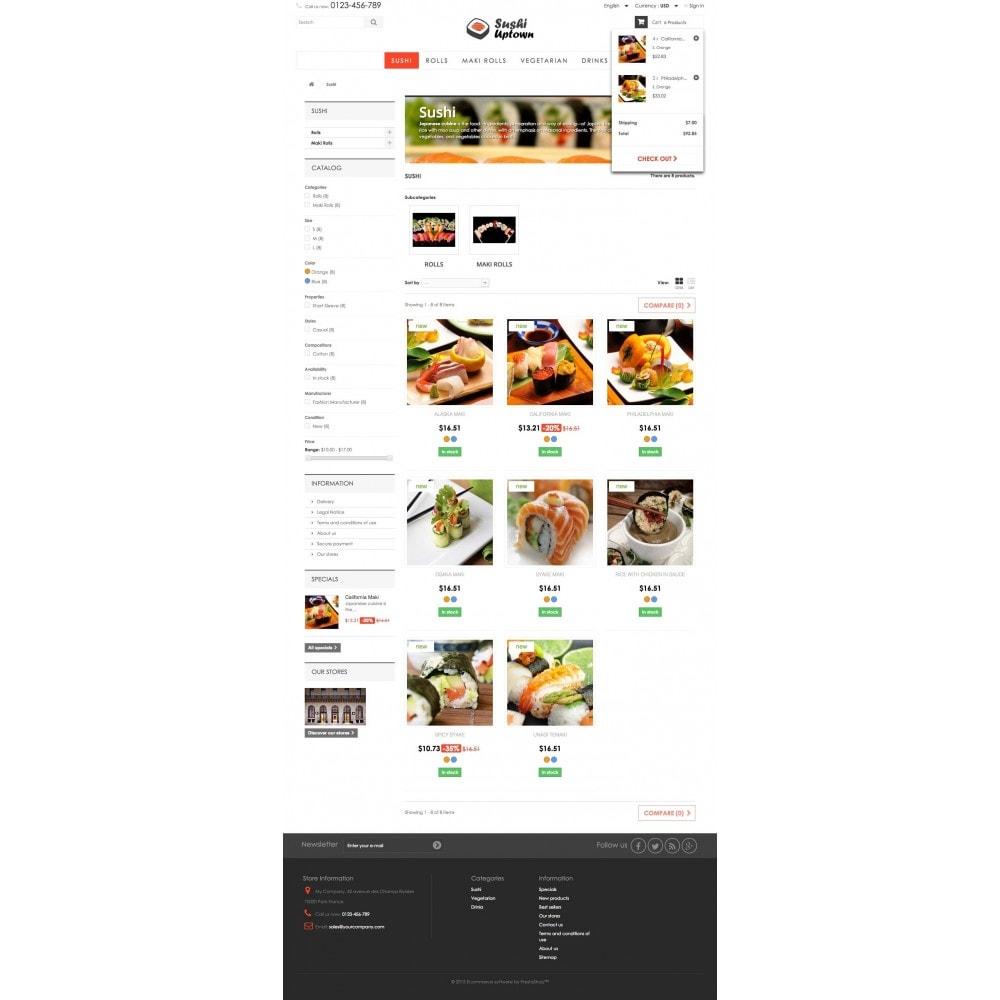 theme - Gastronomía y Restauración - Sushi Uptown 1.6 Responsive - 5