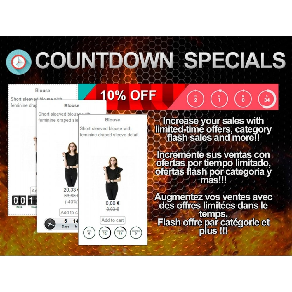 module - Flash & Private Sales - Countdown Specials - Flash sales - 1
