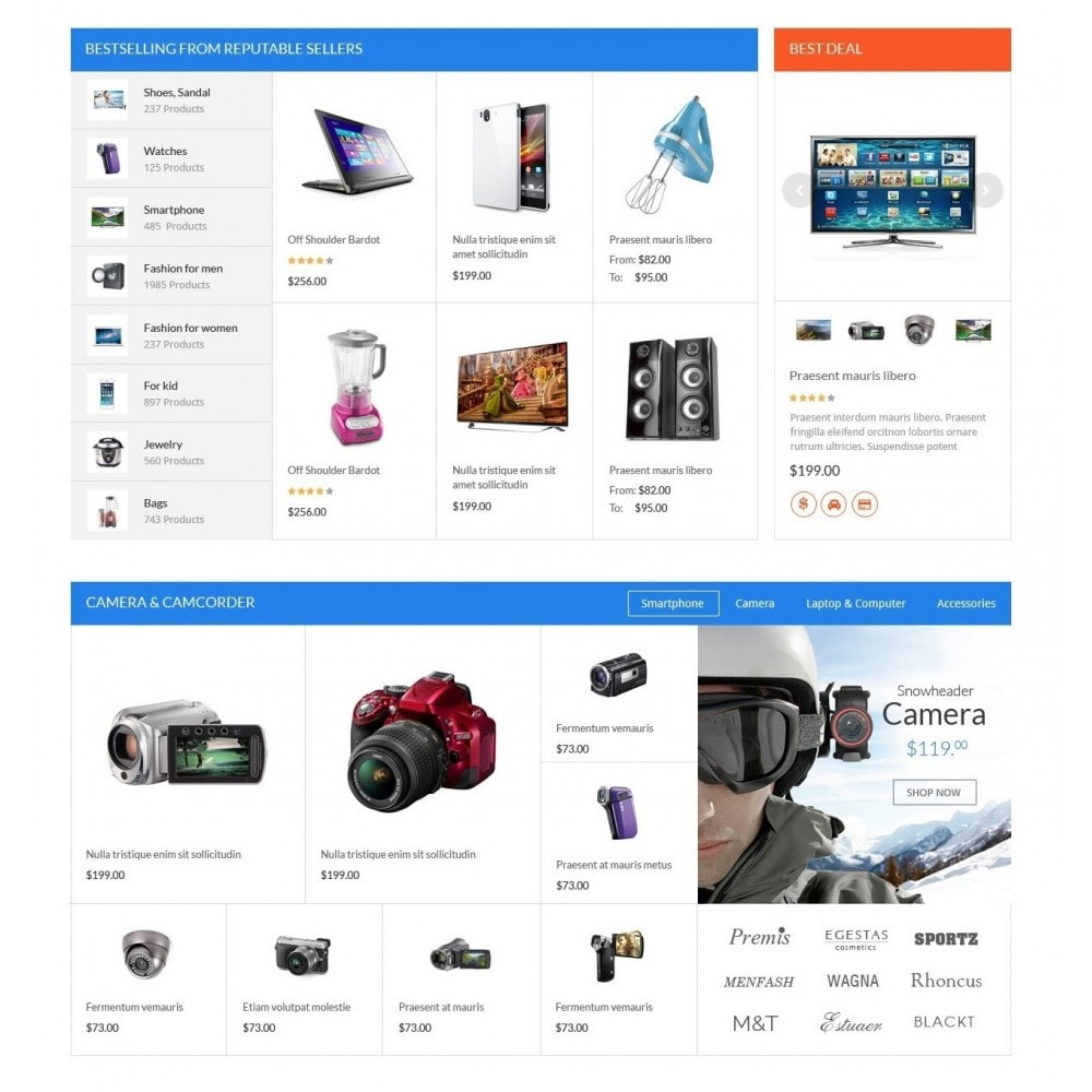 theme - Elektronik & High Tech - ExtraStore - Houseware Responsive PrestaShop Theme - 3