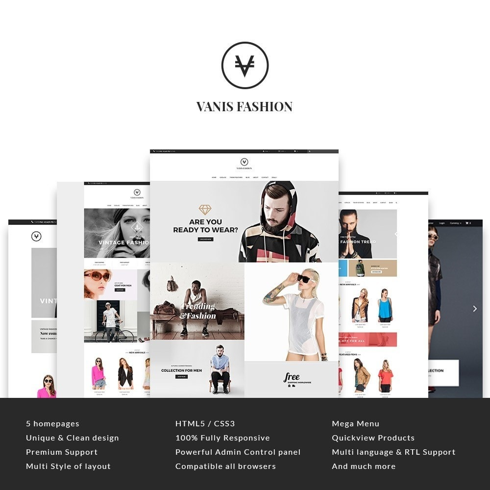 theme - Moda & Obuwie - Leo Vanis Fashion - 1