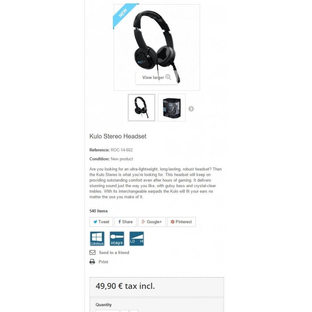 module - Etiquettes & Logos - Pictogrammes Icônes Produits - 4
