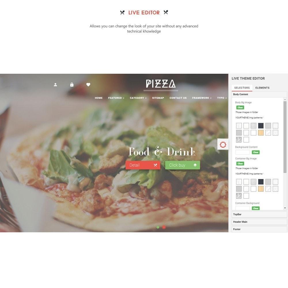 theme - Alimentation & Restauration - Leo Pizza - 9