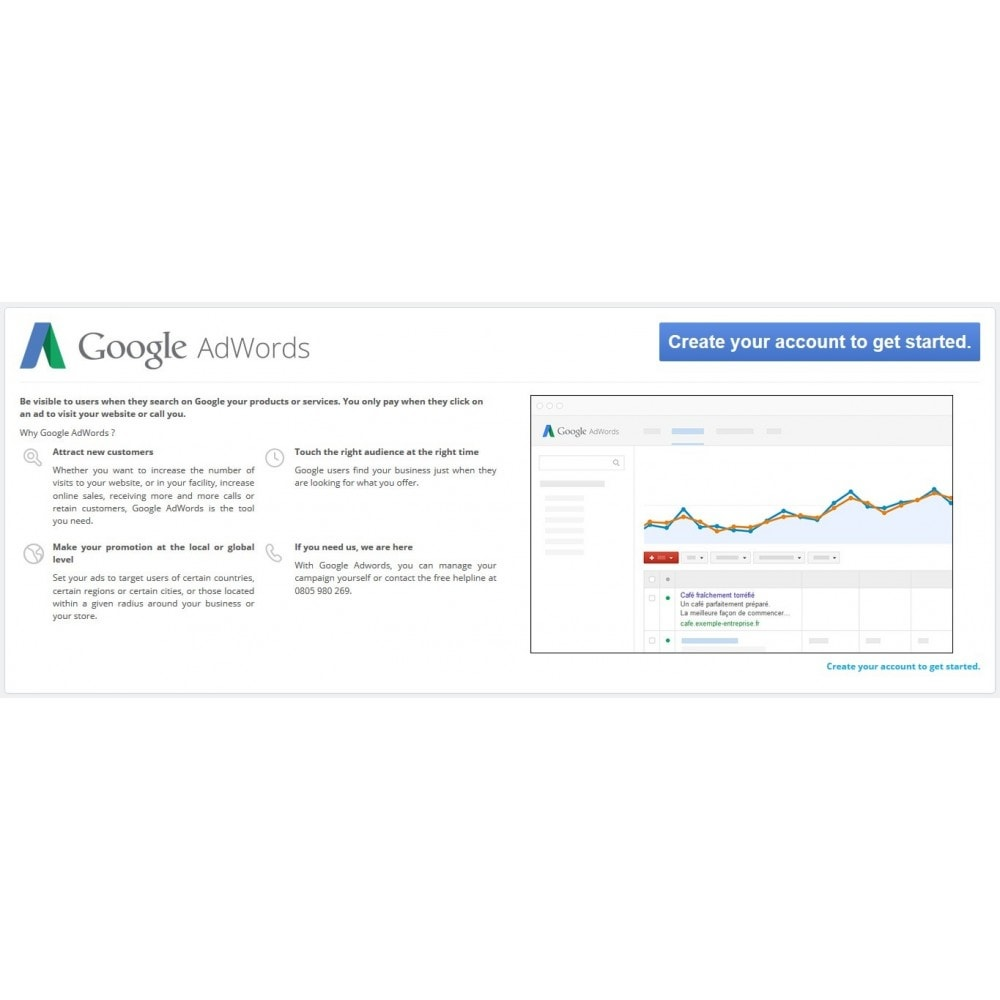 module - Платная поисковая оптимизация - Google Adwords Conversions - 1