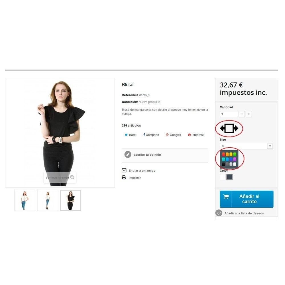 module - Combinations & Product Customization - Attribute Group Image - 4