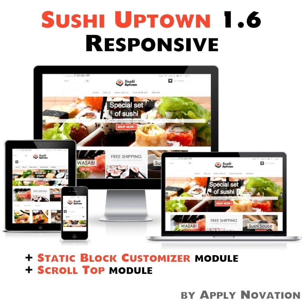 theme - Gastronomía y Restauración - Sushi Uptown 1.6 Responsive - 1