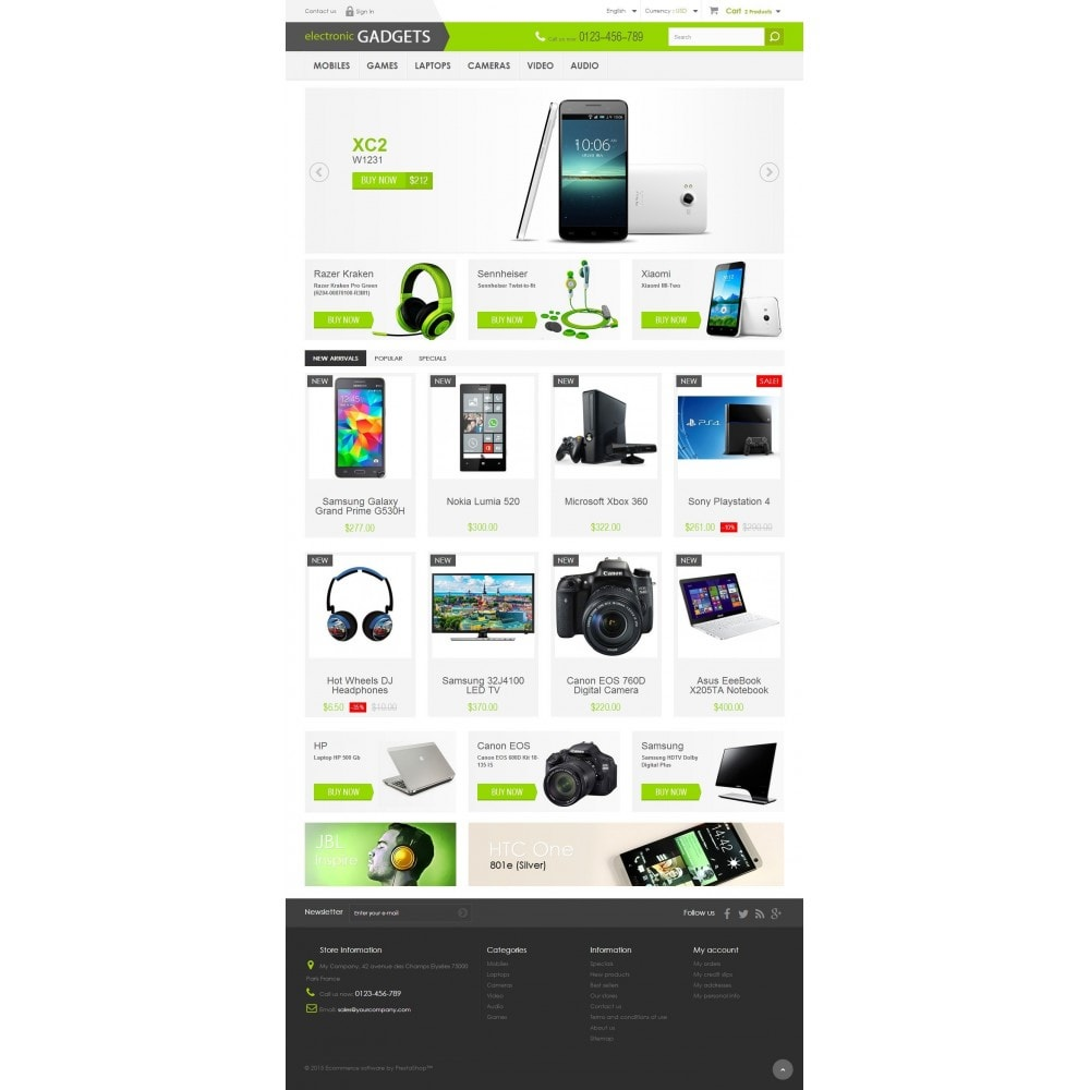 theme - Elektronika & High Tech - Electronic GADGETS 1.6 Responsive - 2