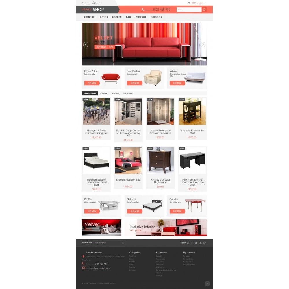 theme - Дом и сад - Interior Shop 1.6 Responsive - 2