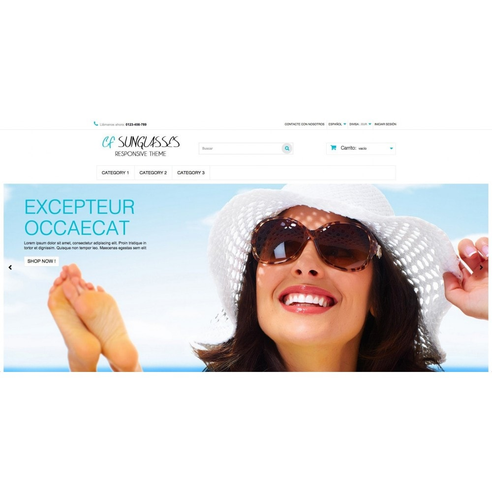 theme - Bellezza & Gioielli - CF Sunglasses - 2