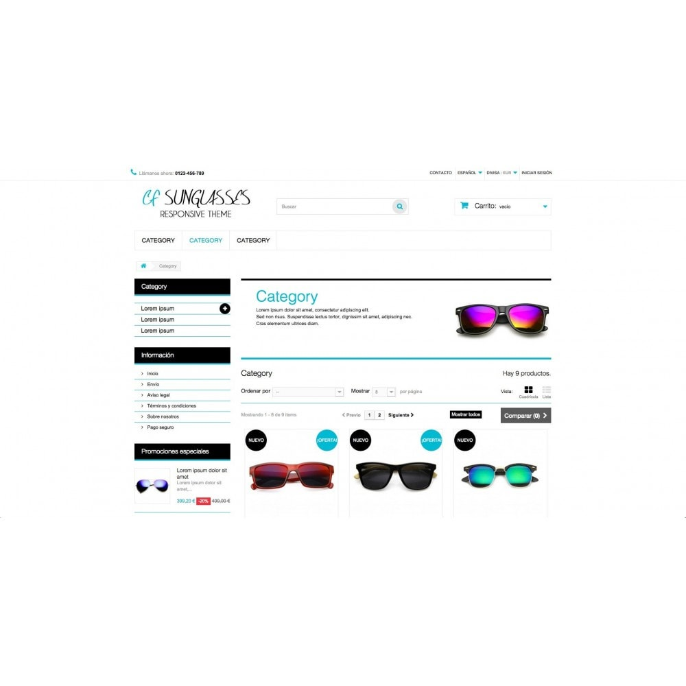 theme - Jewelry & Accessories - CF Sunglasses - 5