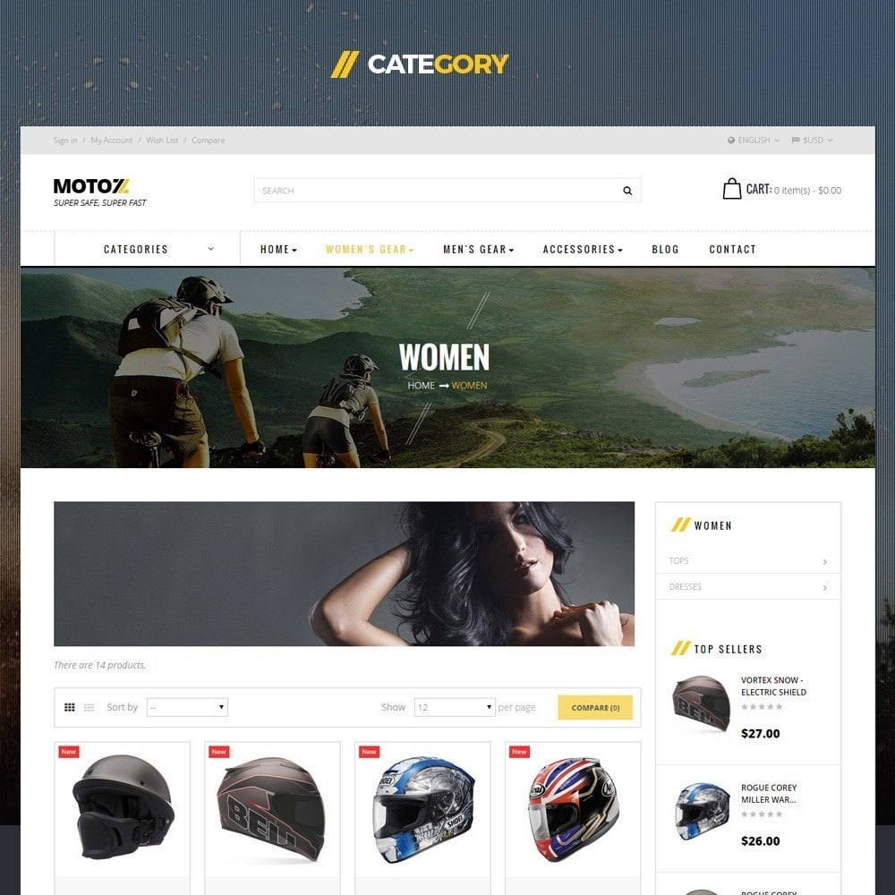 theme - Sports, Activities & Travel - Leo Moto Prestashop 1.6 and 1.7 Theme - 3