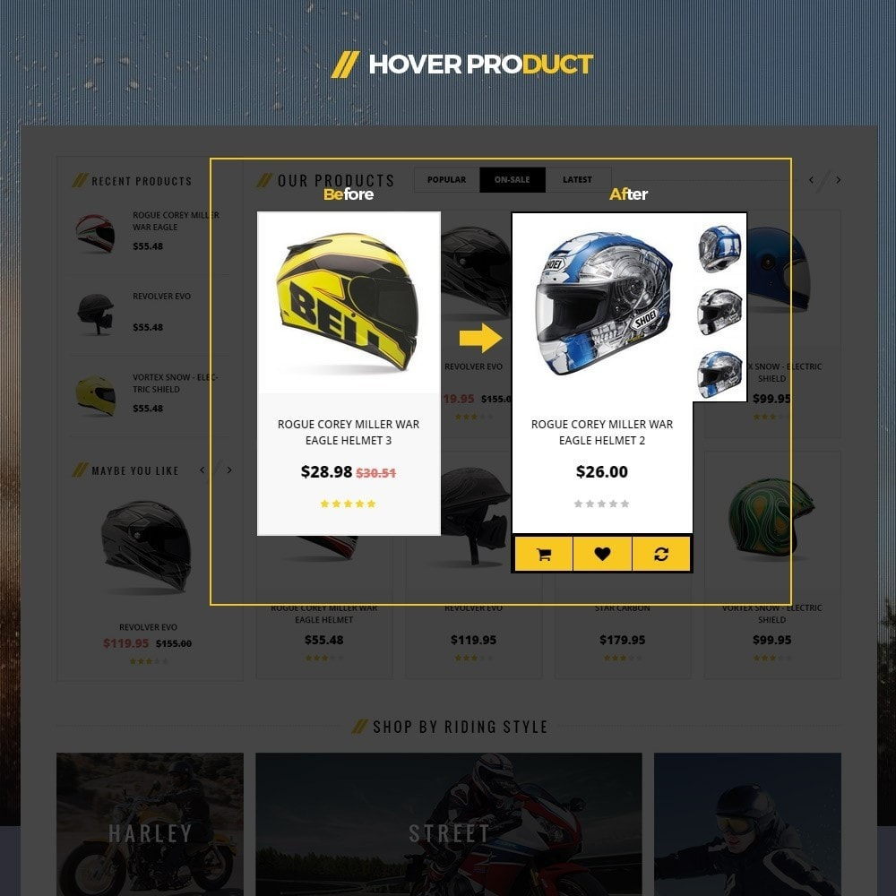 theme - Desporto, Actividades & Viagens - Leo Moto Prestashop 1.6 and 1.7 Theme - 7