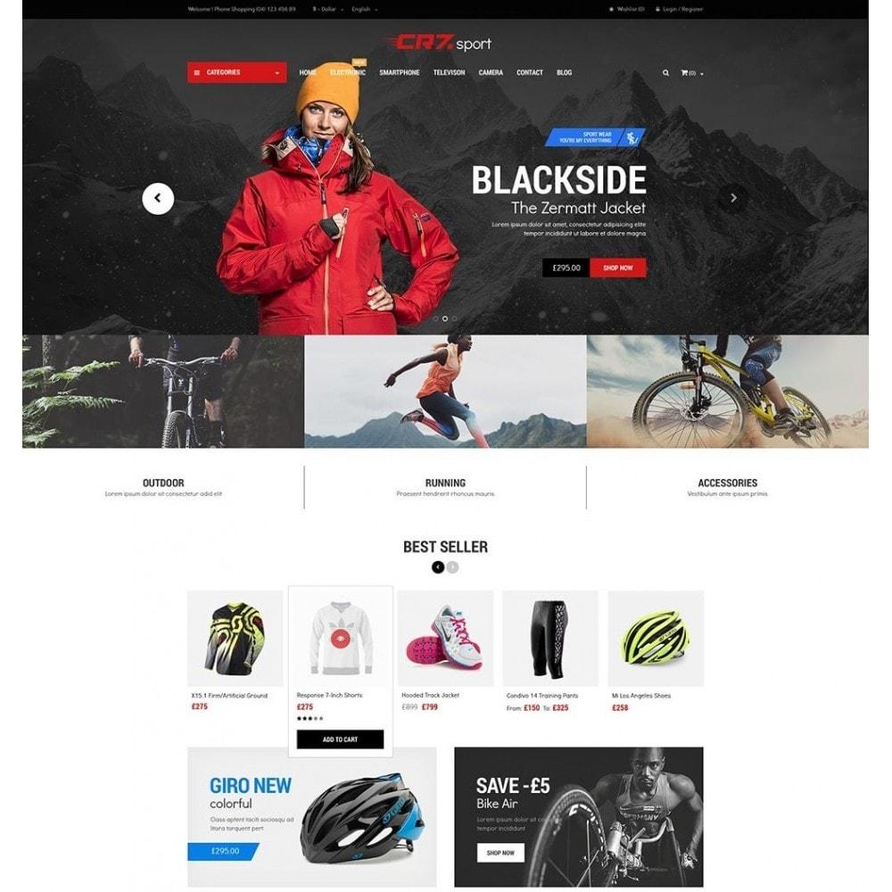 theme - Deportes, Actividades y Viajes - Cr7 - Sport Store PrestaShop Theme - 2