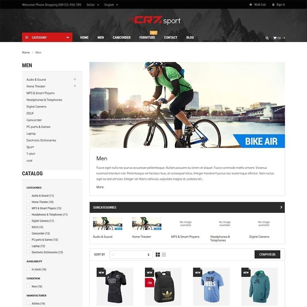theme - Desporto, Actividades & Viagens - Cr7 - Sport Store - 5