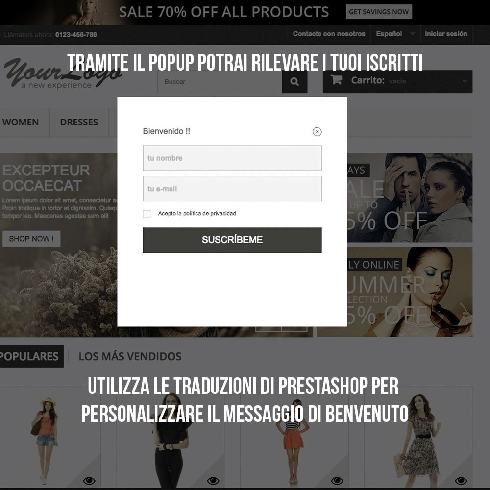 module - Email & Notifiche - Integrazione Benchmark Mail Marketing - 6