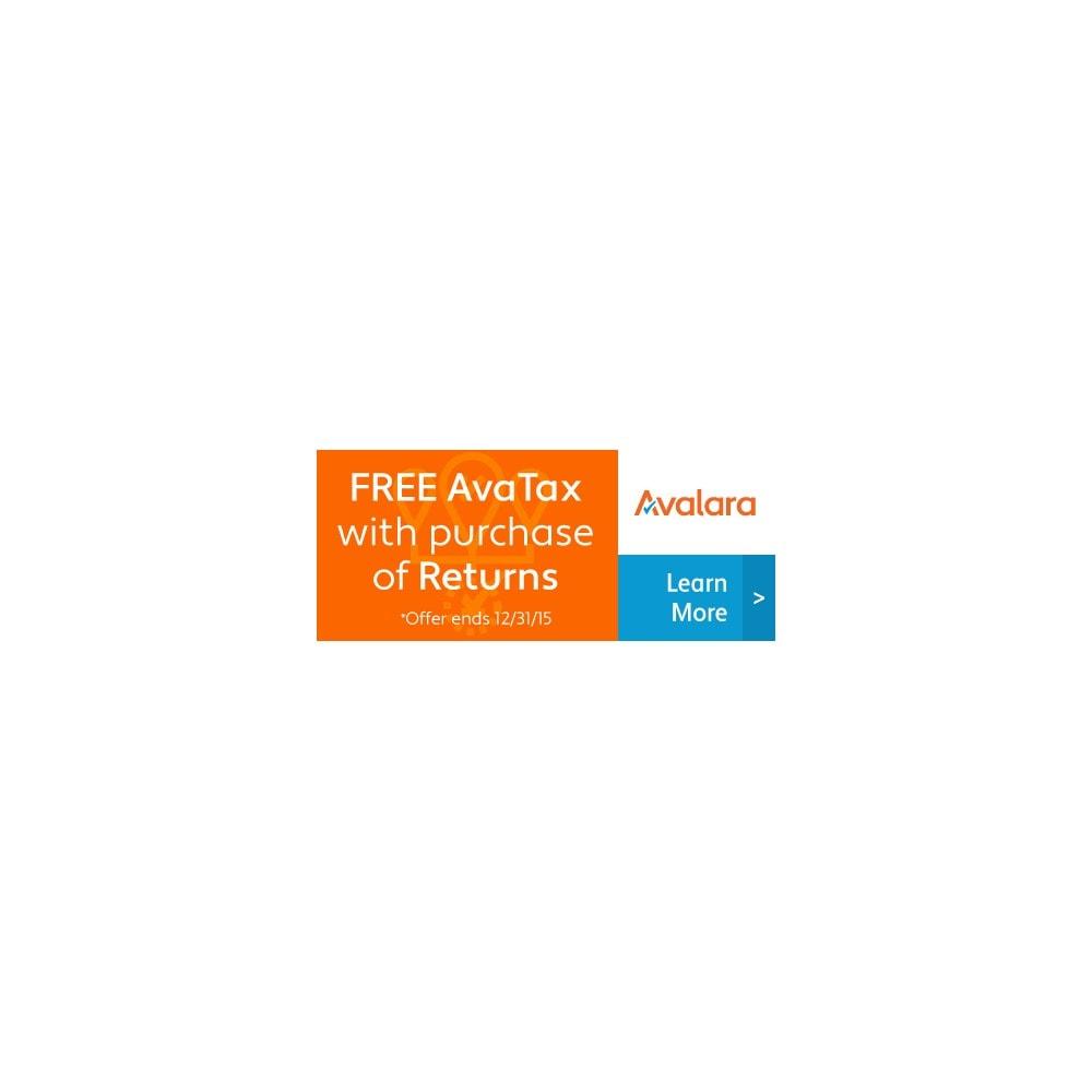 module - Billing & Invoicing - Avalara - AvaTax - 1