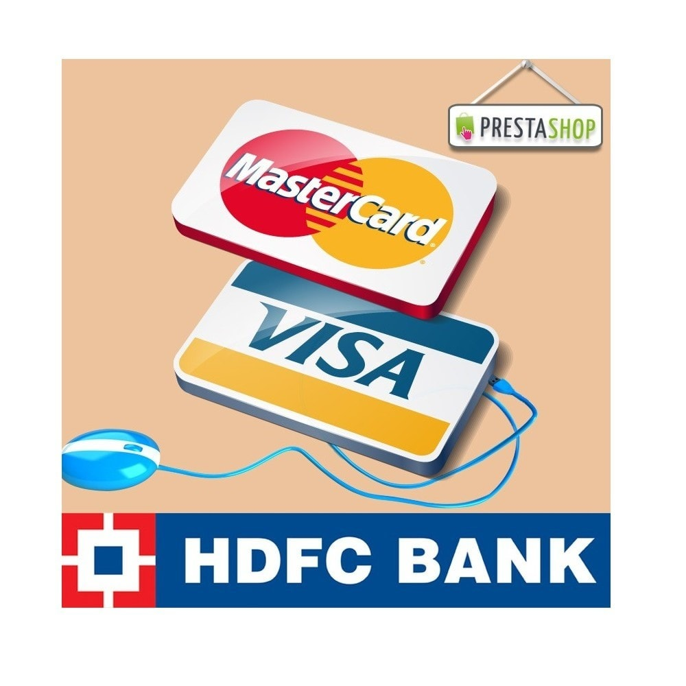 module - Pago con Tarjeta o Carteras digitales - HDFC payment gateway powered by FSSNET dual response - 2