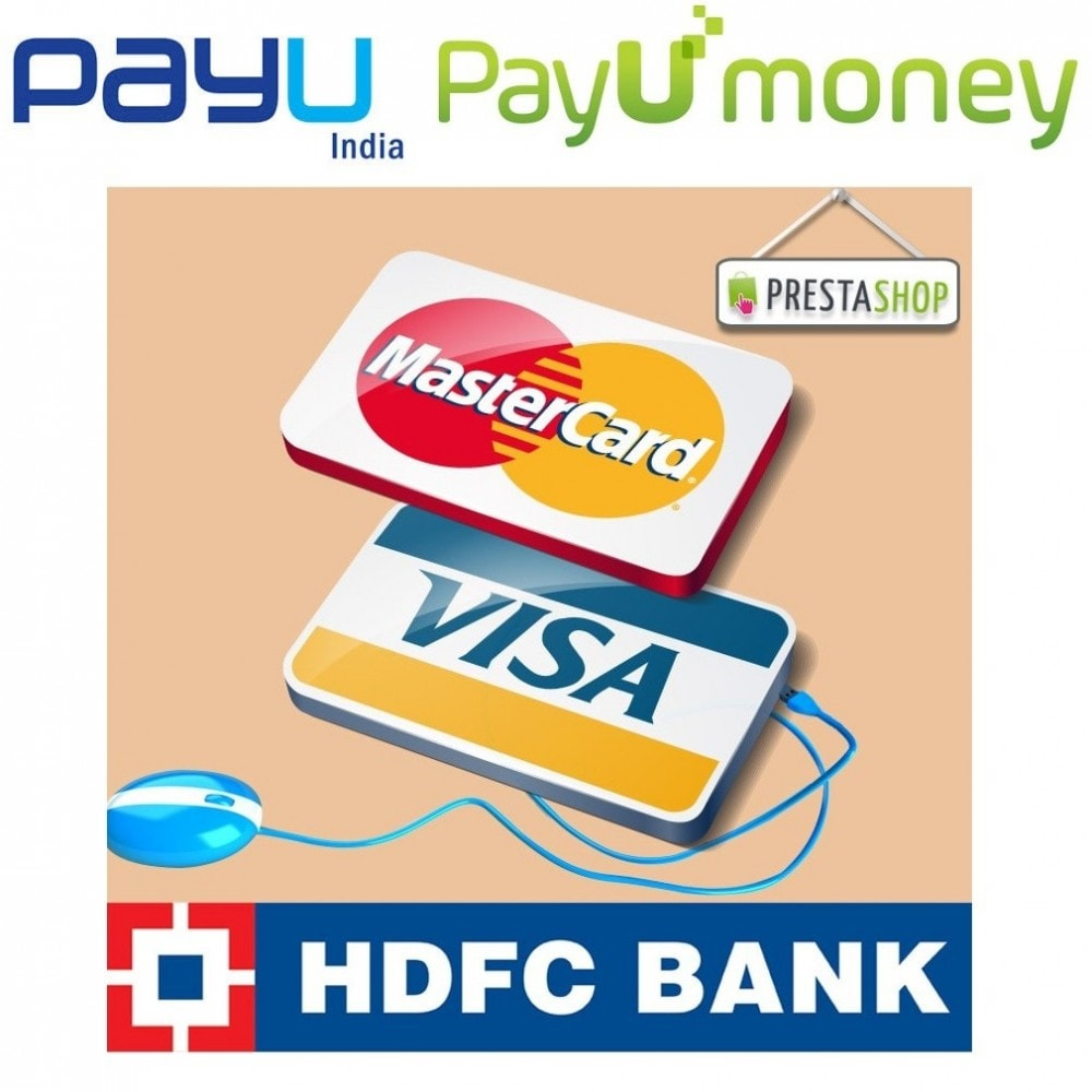 module - Creditcardbetaling of Walletbetaling - PAYU and HDFC payment gateway powered by PAYU India - 1