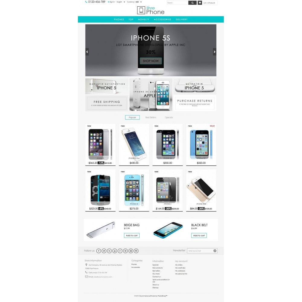 theme - Elettronica & High Tech - Shop Phone - 2