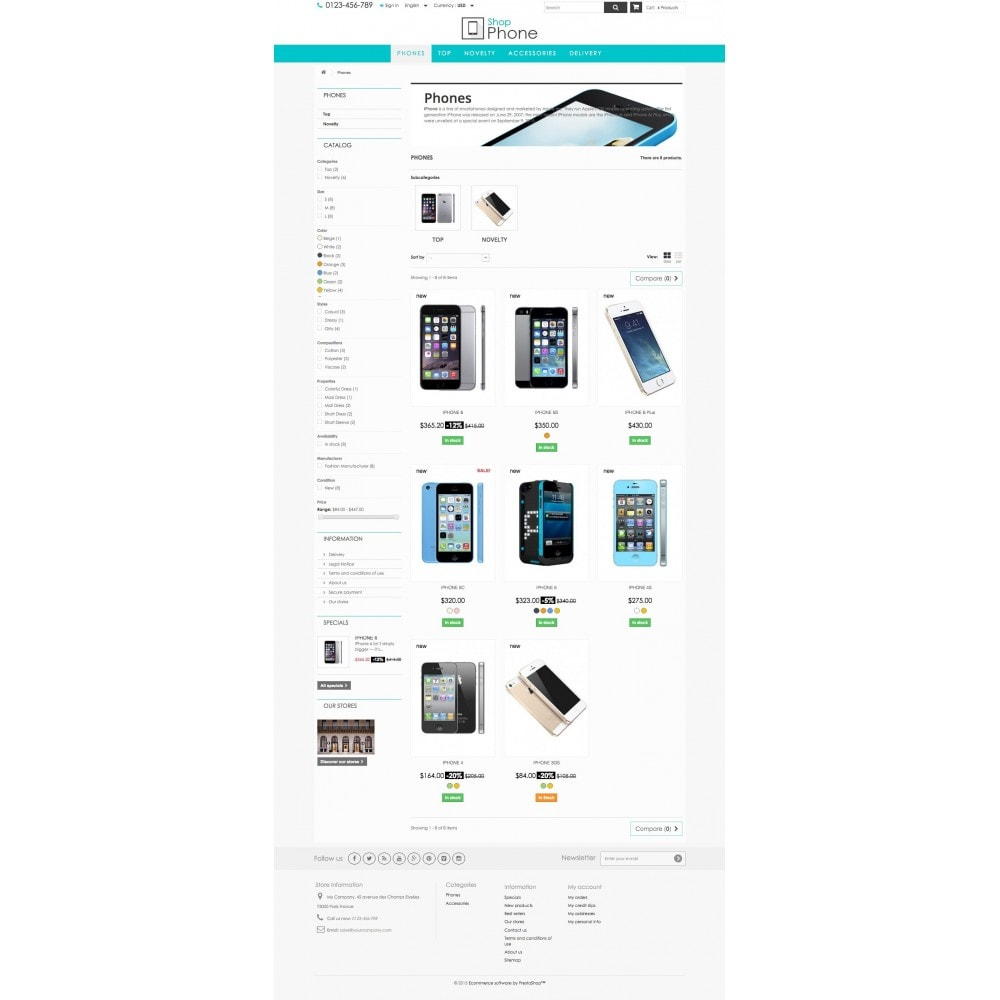 theme - Elektronik & High Tech - Shop Phone 1.6 Responsive - 5