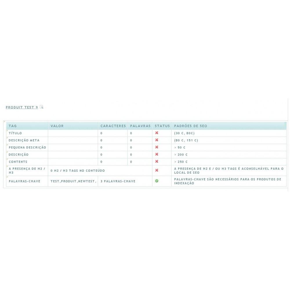 module - SEO (Referenciamento natural) - SEO ANALYSIS - 3