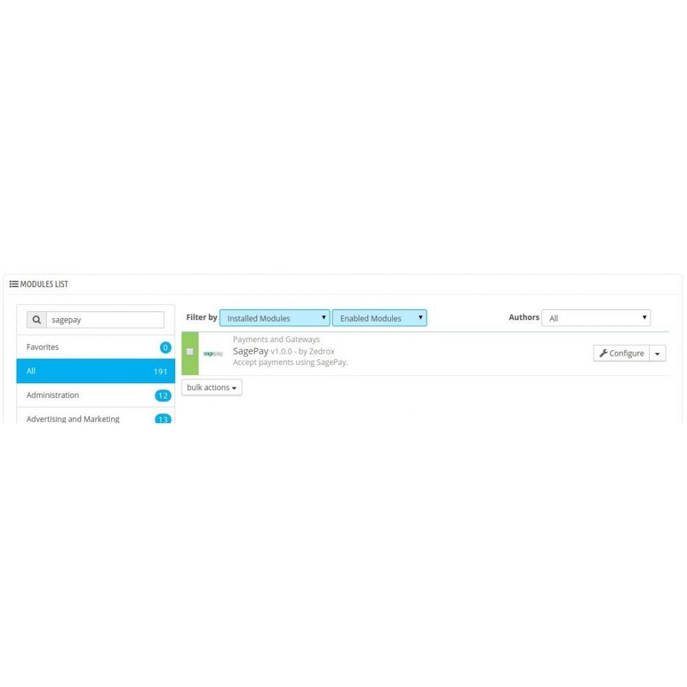 module - Pago con Tarjeta o Carteras digitales - Sagepay Payments - 1