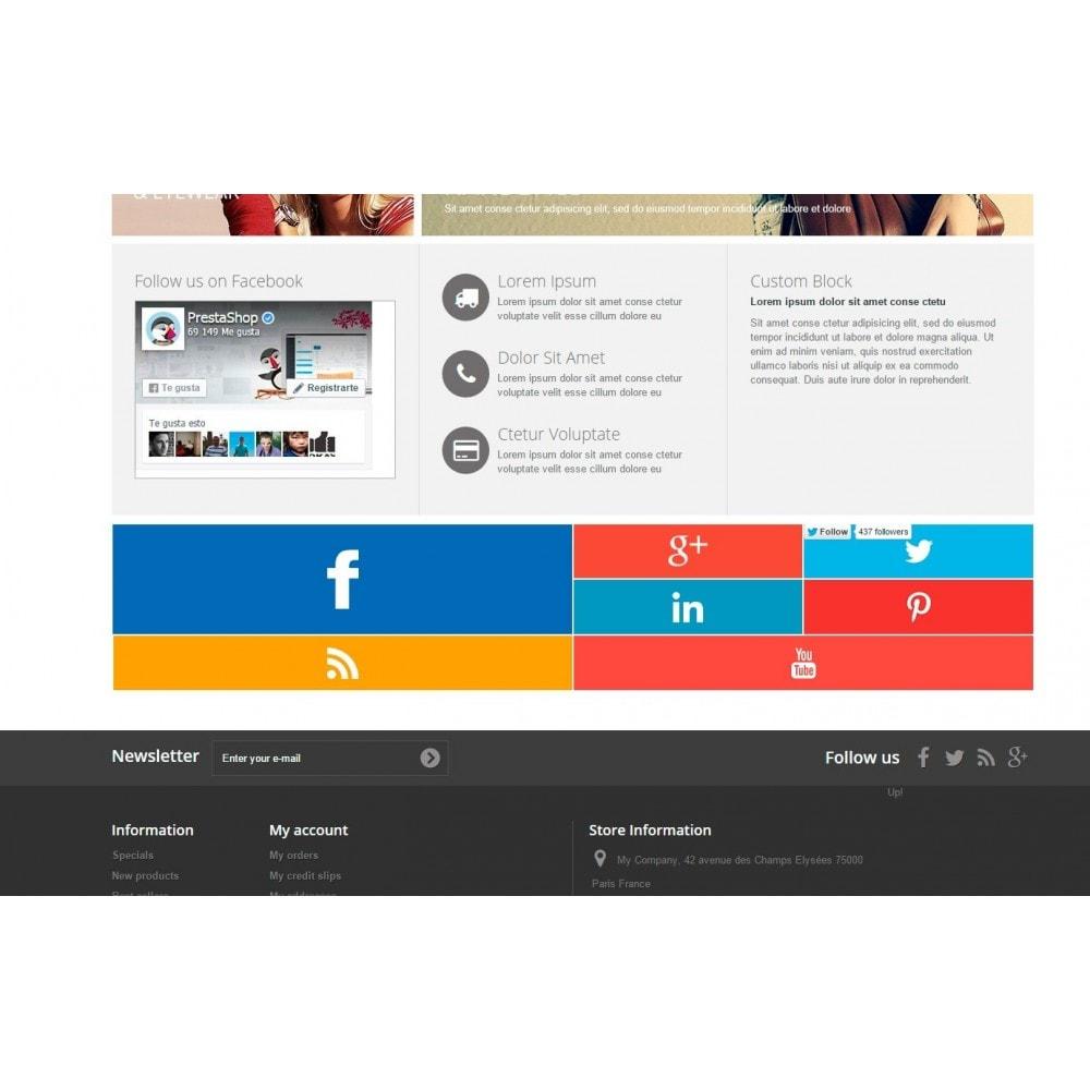 module - Widgety serwisów społecznościowych - Metro Social - Follow module - 6
