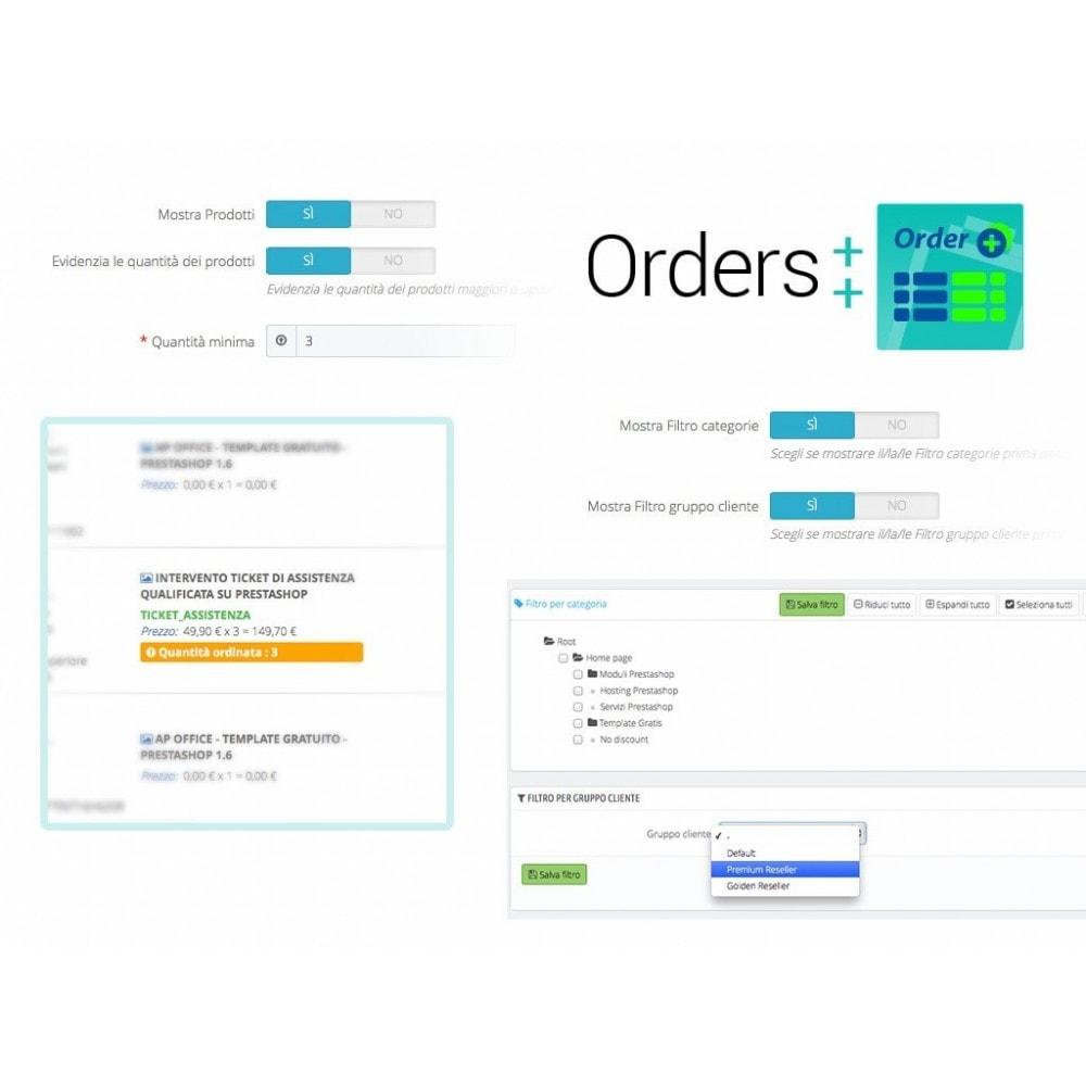 module - Gestione Ordini - Lista ordini avanzata con filtri e funzioni speciali - 6