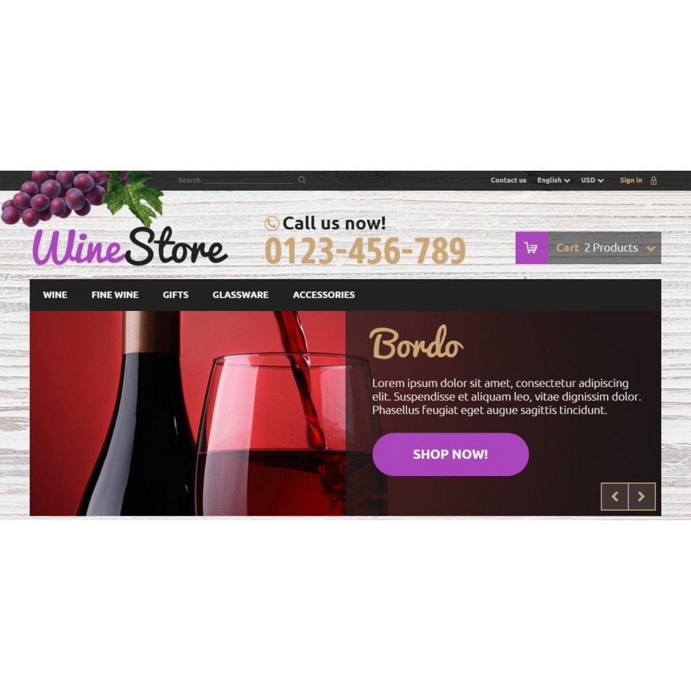 theme - Bebidas y Tabaco - Wine Store - 3