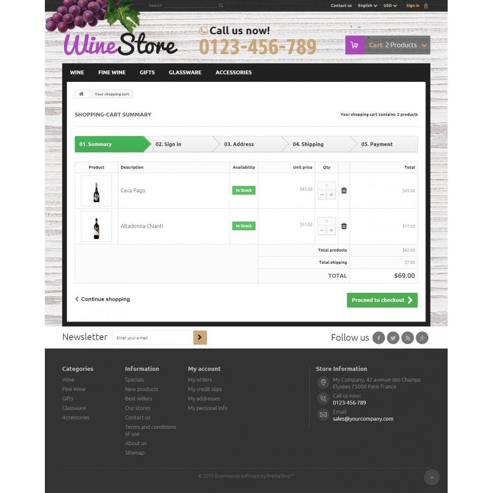 theme - Getränke & Tabak - Wine Store 1.6 Responsive - 8