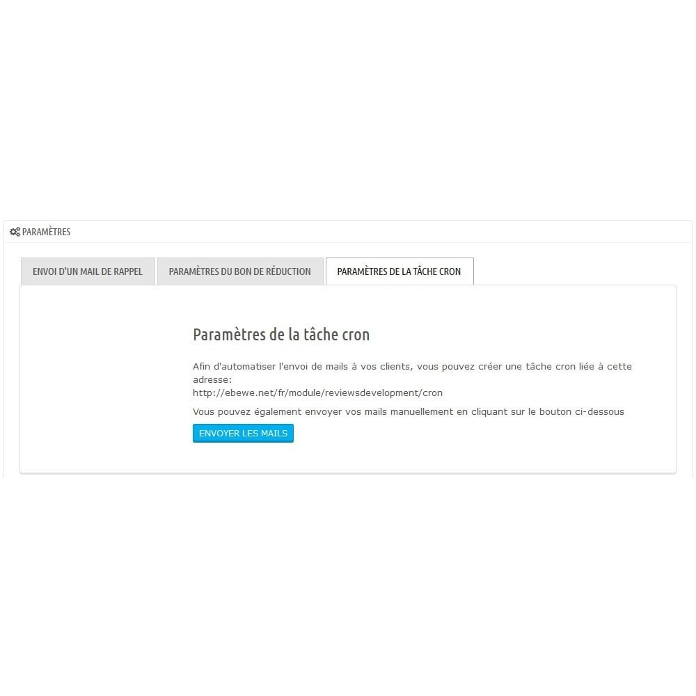 module - Opiniões de clientes - Reviews Development - Increase your number of reviews - 3