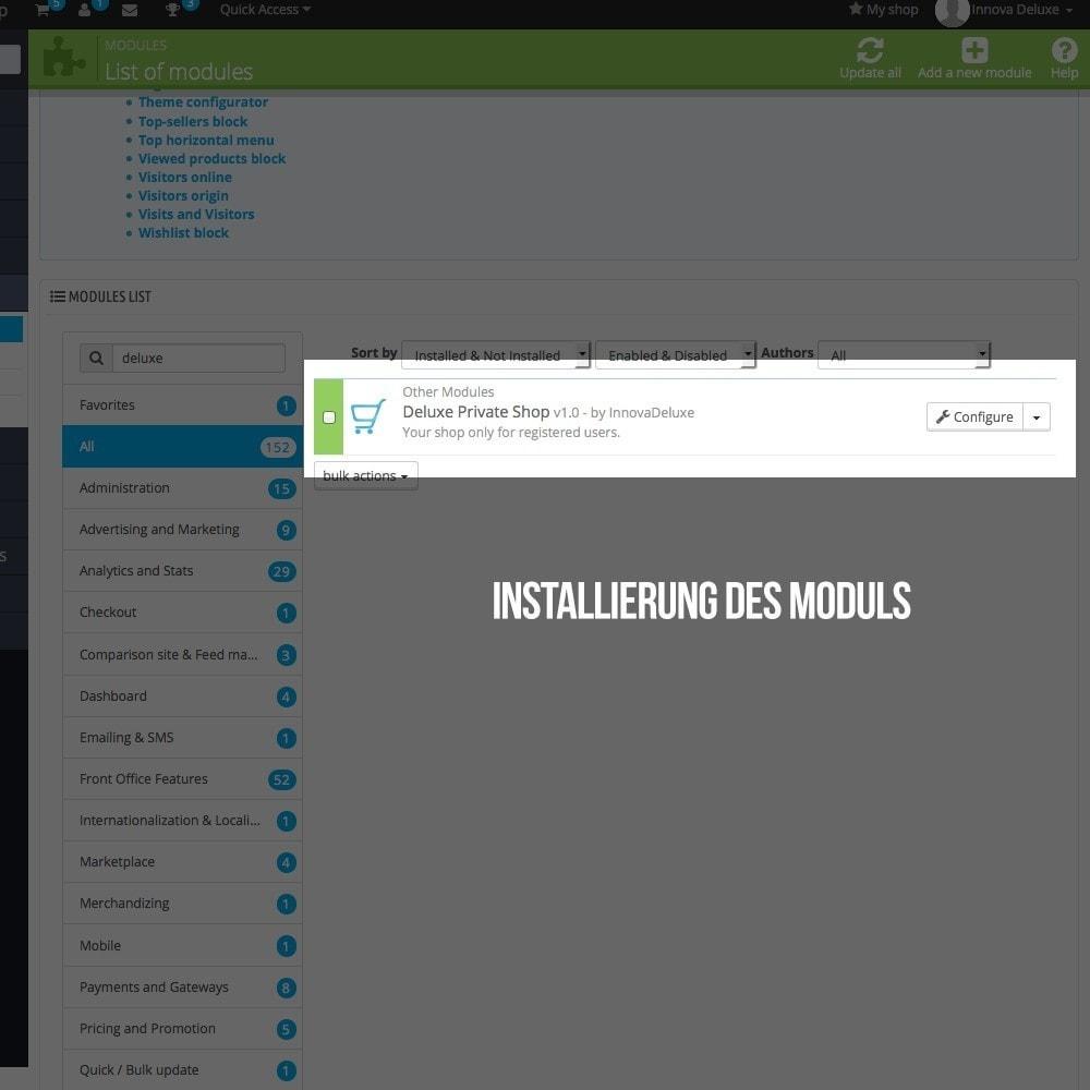 module - B2B - Online-Shop mit speziellem Zugang für B2B Geschäfte - 2