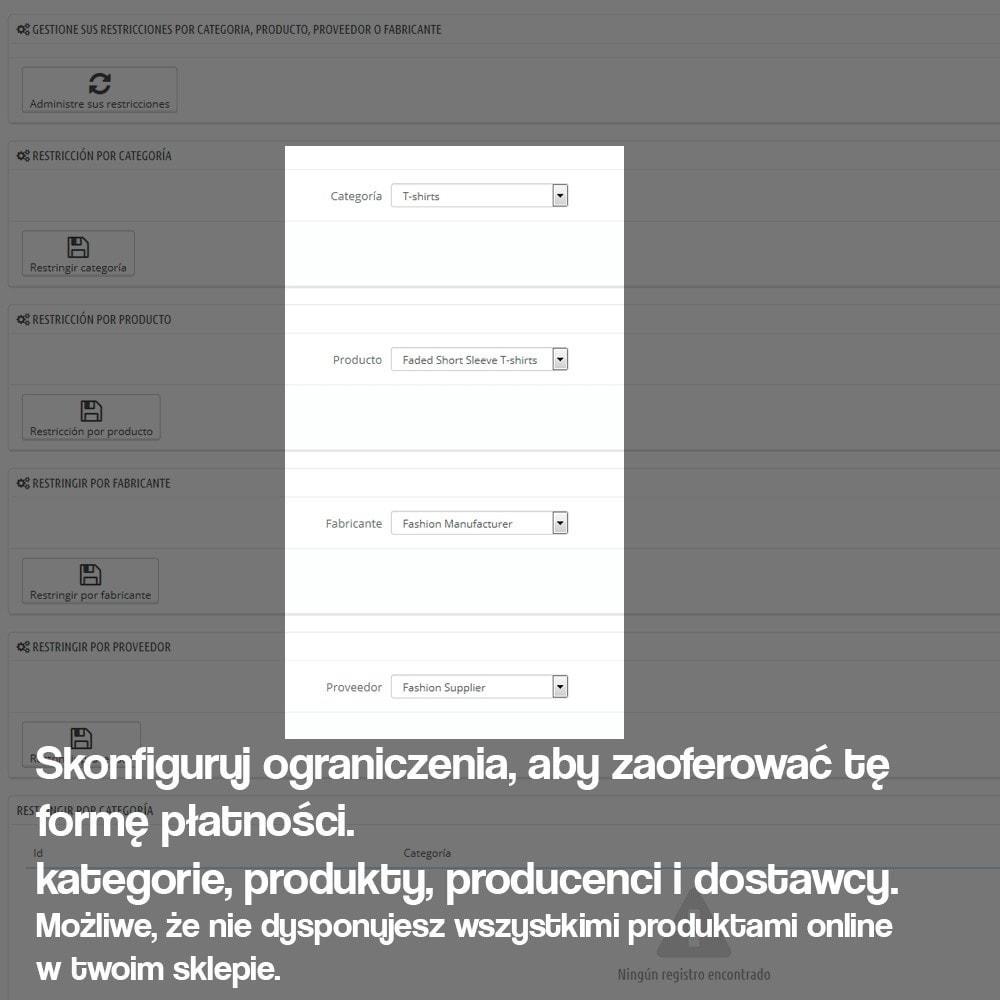 module - Płatność w sklepie - Płatność w sklepie stacjonarnym (z ewentualną dopłatą) - 6