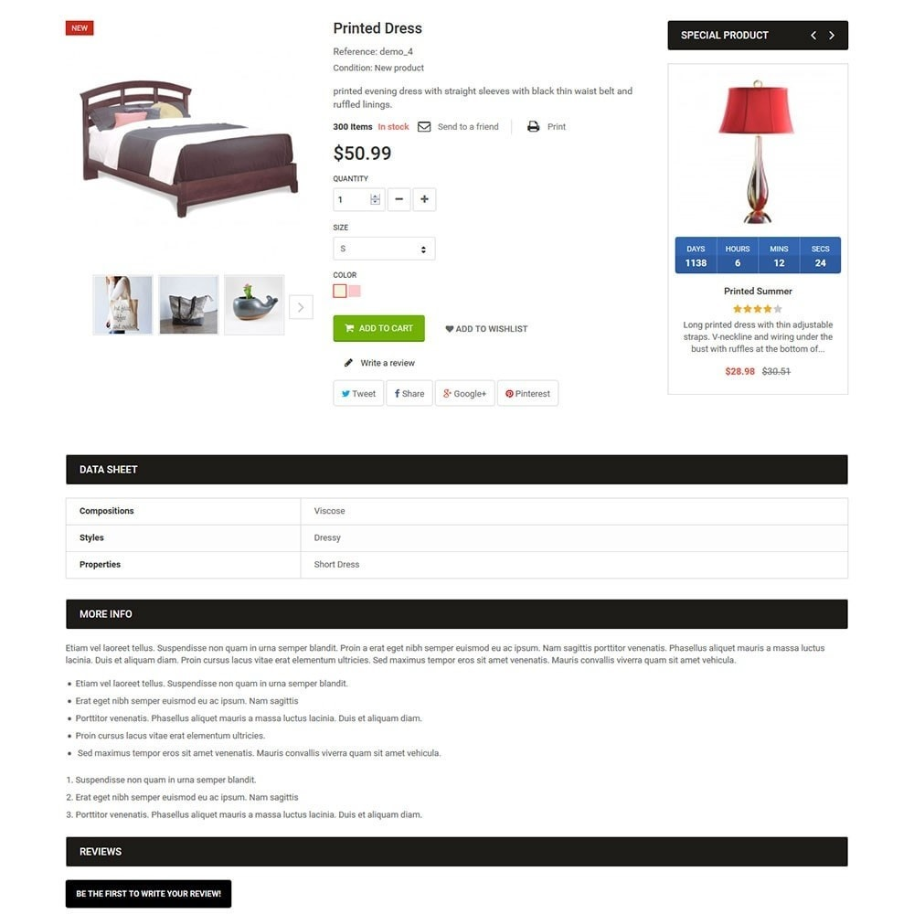 theme - Dom & Ogród - LifeSpace - Furniture Store Responsive PrestaShop - 5
