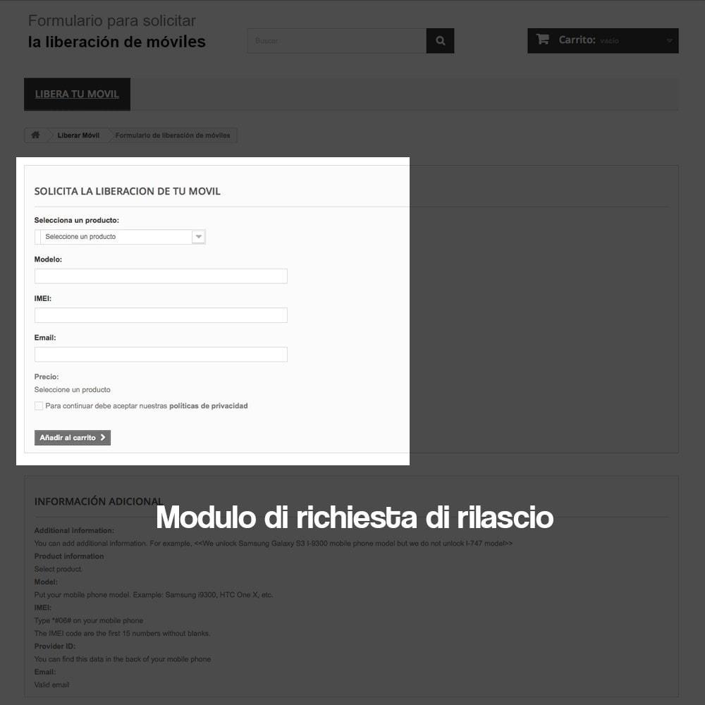 module - Form di contatto & Questionari - Sistema di sblocco dei dispositivi mobili - 8