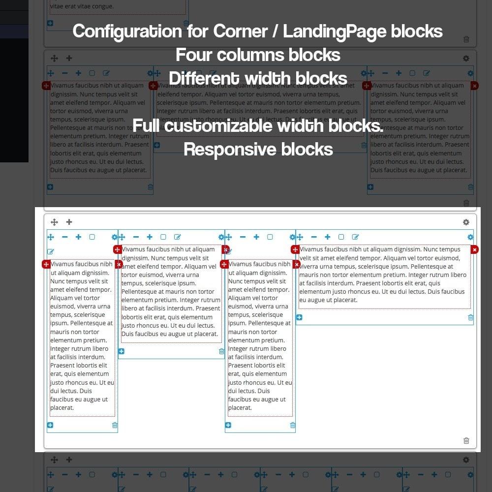 module - SEO - Landing pages, cornes or microsites creator - 16