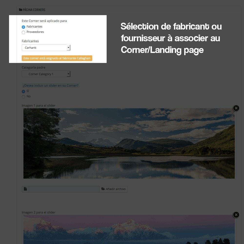 module - SEO (référencement naturel) - Créateur de Landingpages (corners) pour des marques - 6