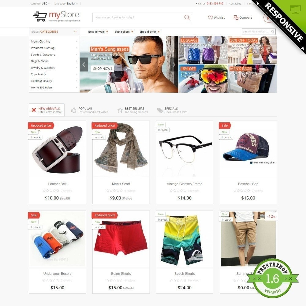 theme - Moda & Calzature - myStore Monika - 1