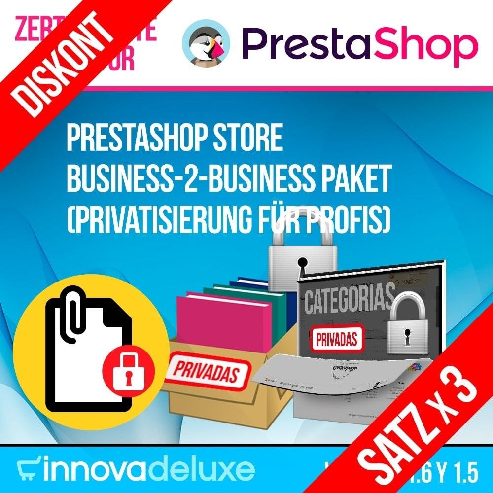 pack - B2B - Pack 2 - Store B2B Paket (Privatisierung für Profis) - 1