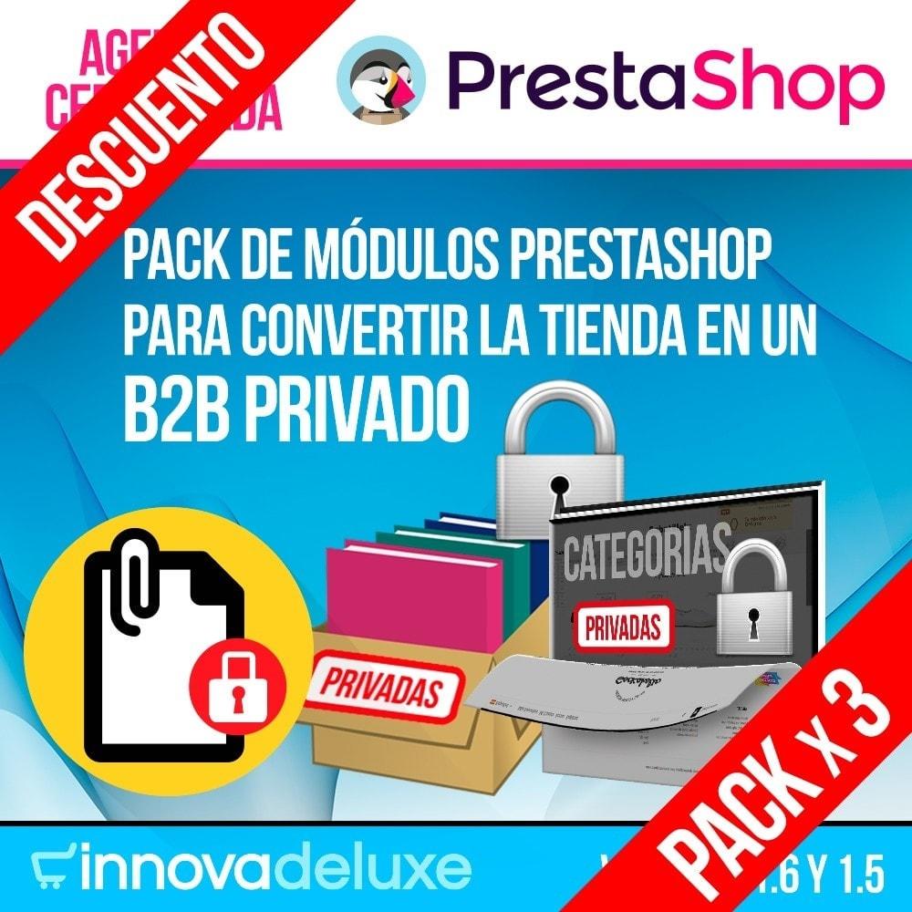 pack - B2B - Pack 2 - Módulos B2B (privatización para profesionales) - 1