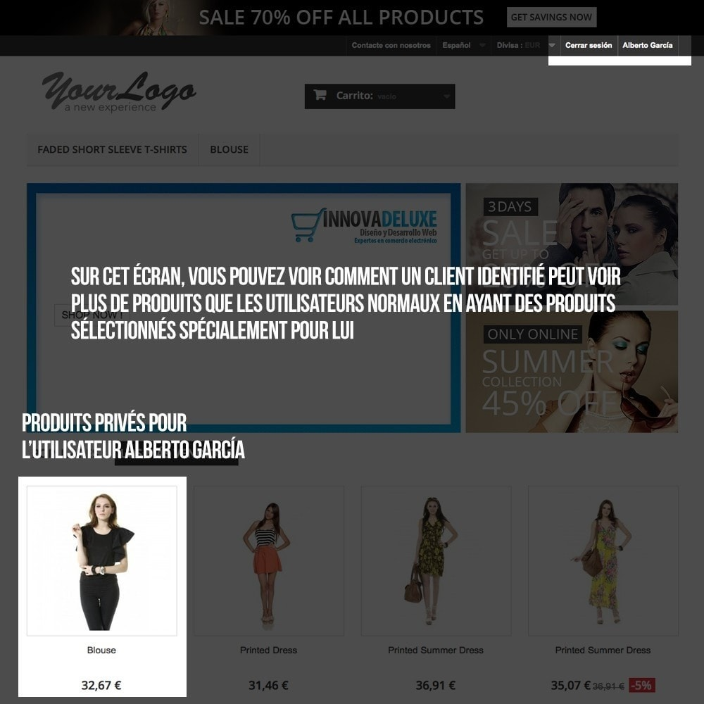 pack - B2B - Pack 2 - Boutique B2B privatisation pour professionnels - 10