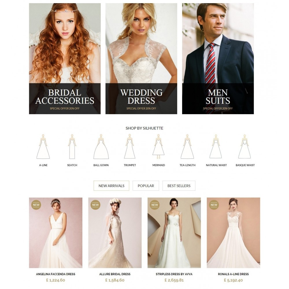 theme - Mode & Schuhe - WEDDING STORE 1.6 Responsive Template - 3