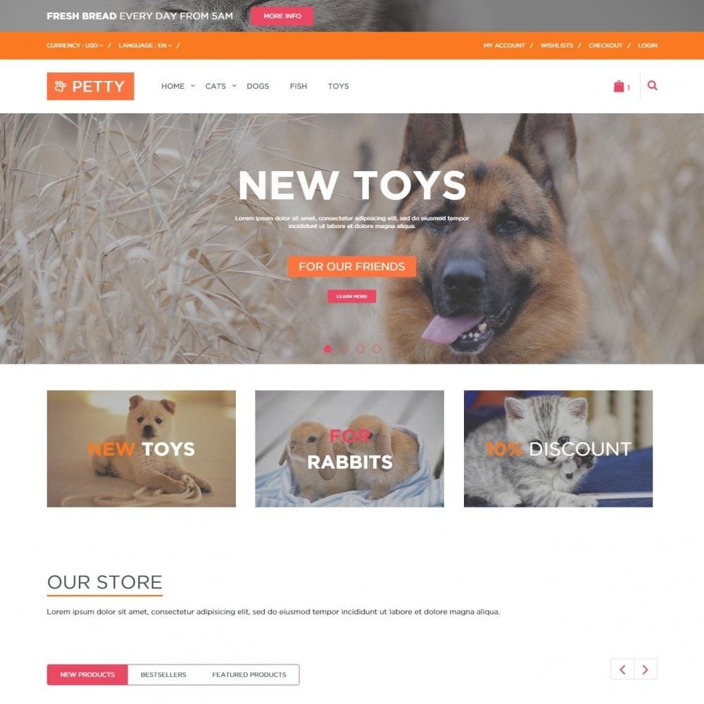 theme - Animals & Pets - Pets Store - 1